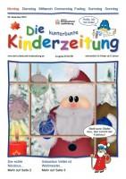 Die kunterbunte Kinderzeitung Nikolaus-Titel