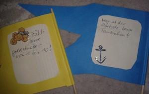Piratenflagge hinten