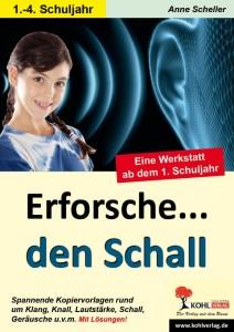 """""""Erforsche den Schall"""" Cover"""